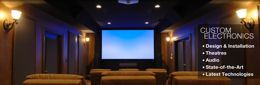 motorized shades home automation DES Durango Electrical Services home theater